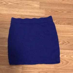 Junior knit skirt